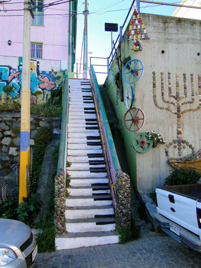 17 escadarias com as mais belas decorações urbanas do mundo 03
