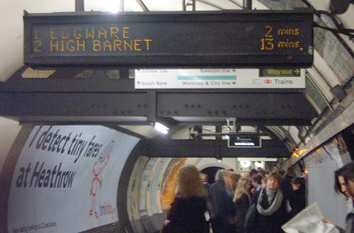 No Northern Line Delays!