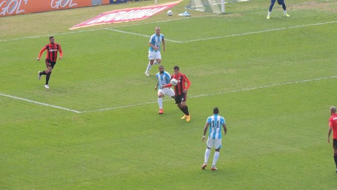 Avaí x Sport estádio Ressacada (Foto: Lucas Liausu)