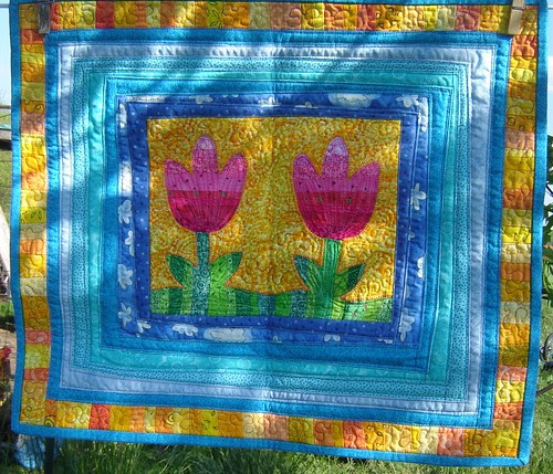 Spring Quilt from Helen
