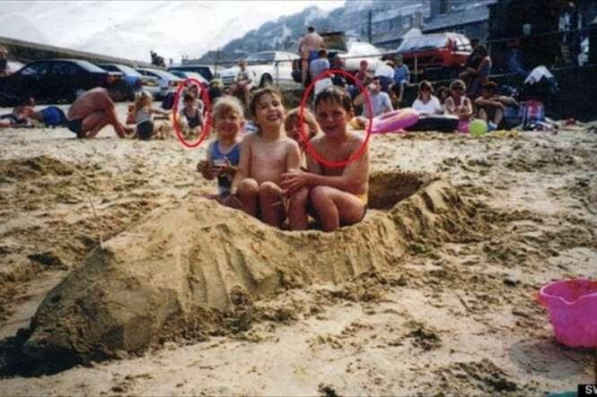 Esse rapaz viu sua futura esposa em uma foto de infância