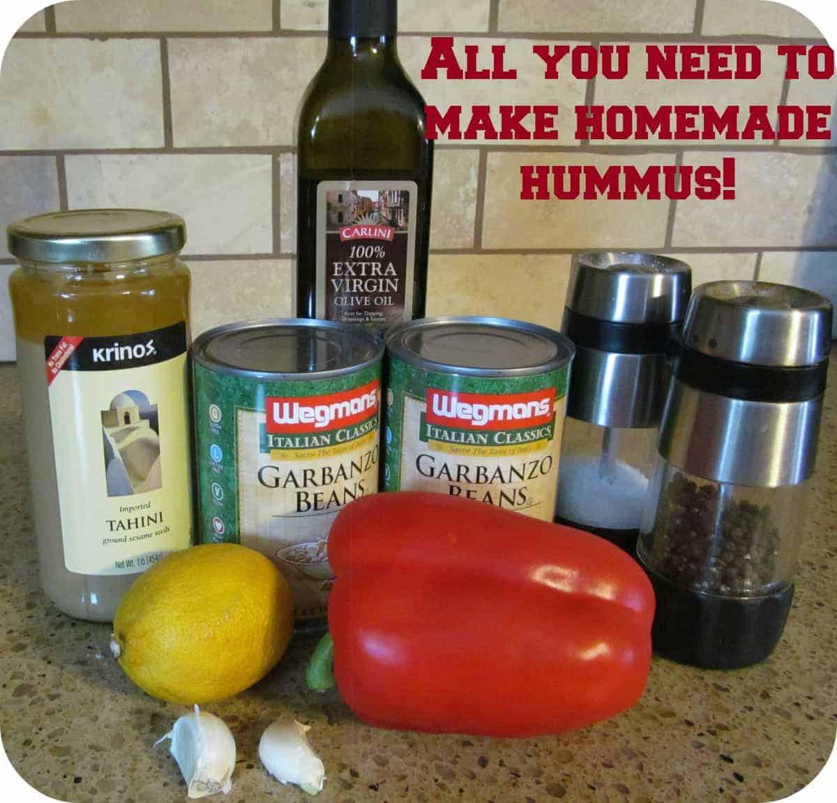 How to Make Homemade Hummus  Organize Yourself Skinny