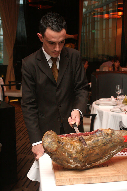 Guy Savoy guests get this rolled up to their tableside