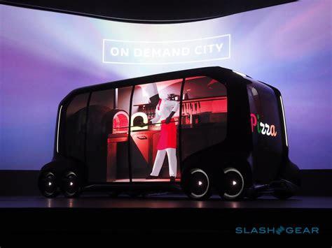 toyota  palette autonomous concept wins  amazon uber