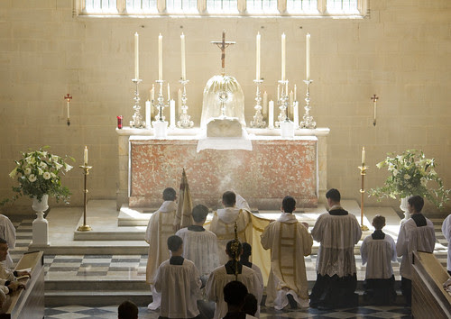 Incensing the Blessed Sacrament in Blackfriars