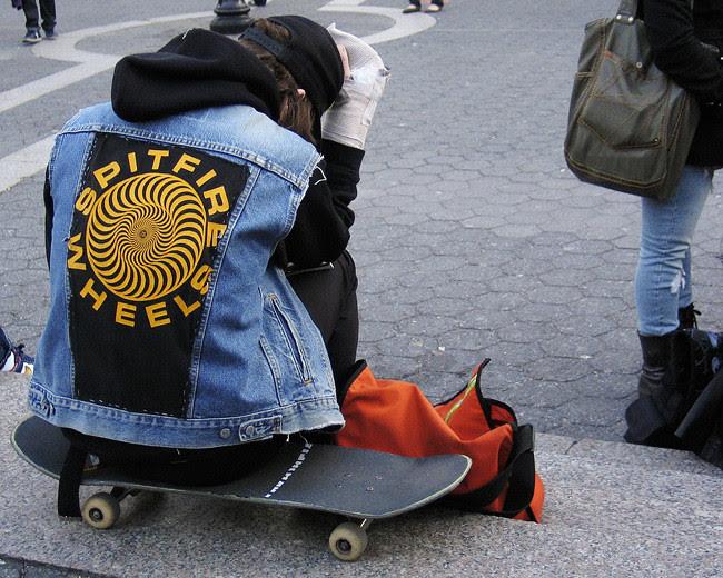 Skateboarder, NYC