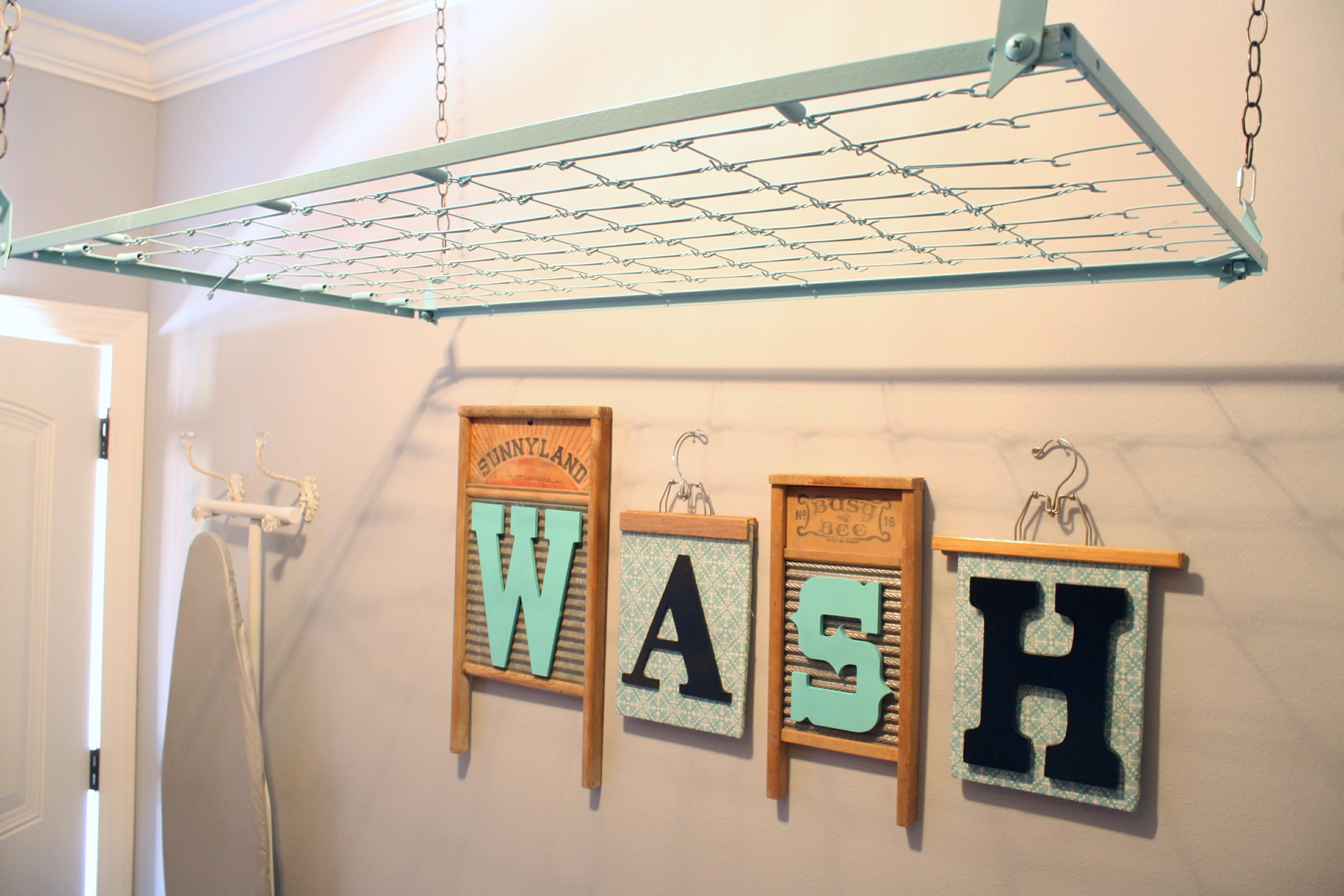 Crib Spring Drying Rack Wash Room Decor – A Diamond in the Stuff