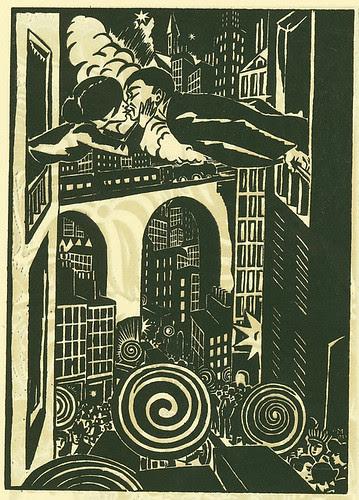 Masereel, 1924 by Mauro F.A.