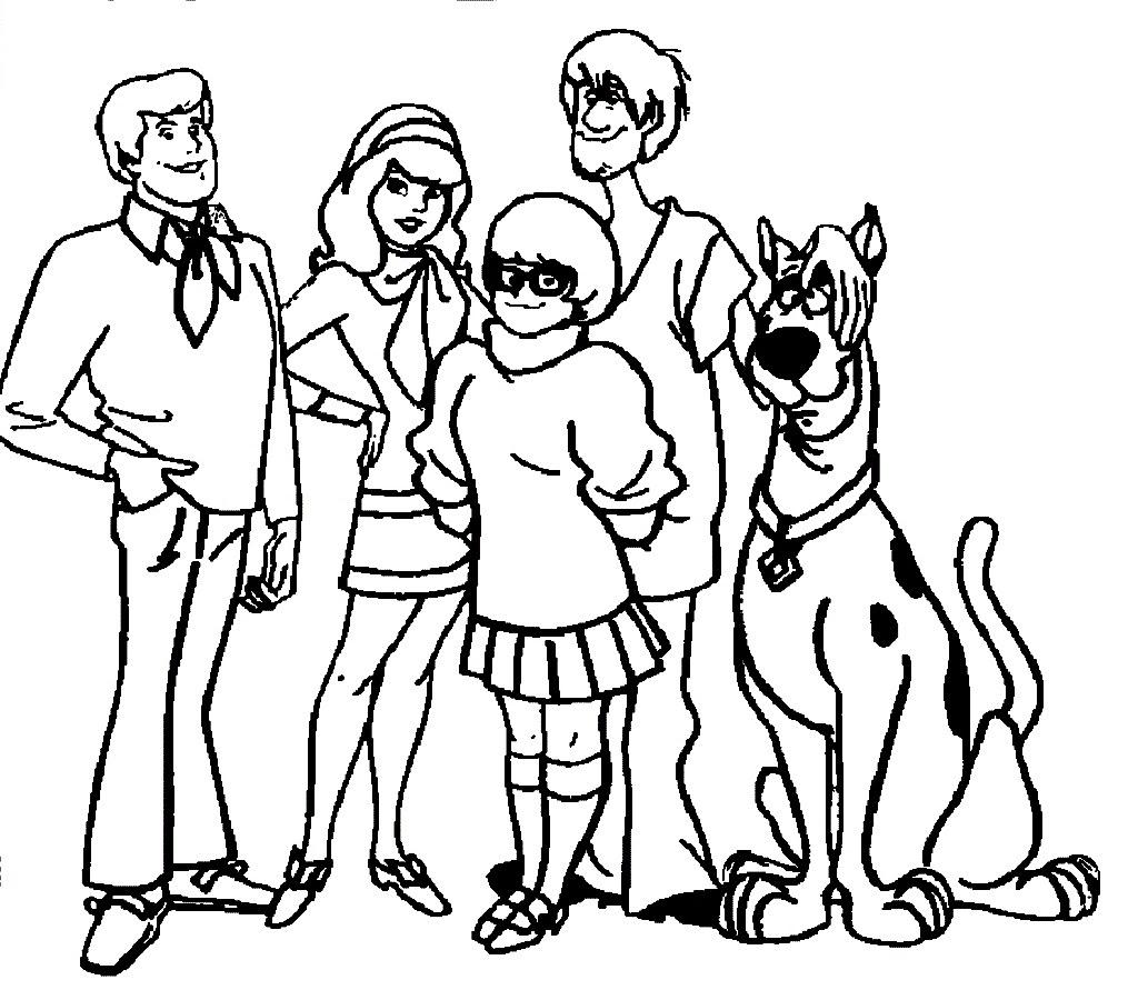118 Dessins De Coloriage Scooby Doo à Imprimer Sur Laguerchecom