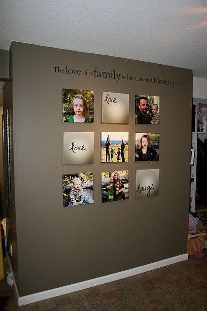 photo wall
