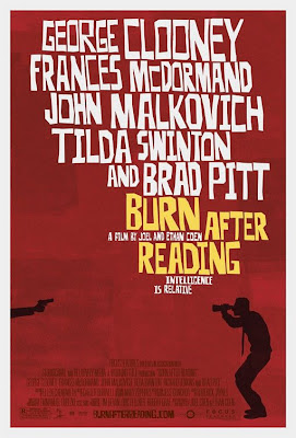 Burn After Reading Theatrical Movie Poster