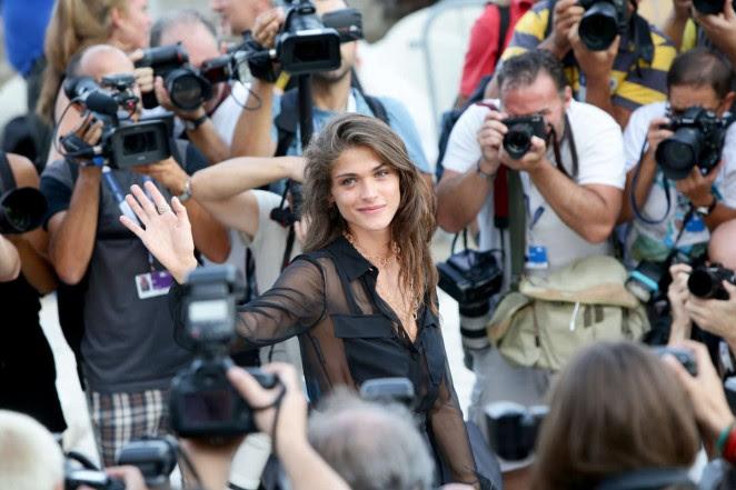 Elisa Sednaoui: 72nd Venice Film Festival Jury Photocall -04
