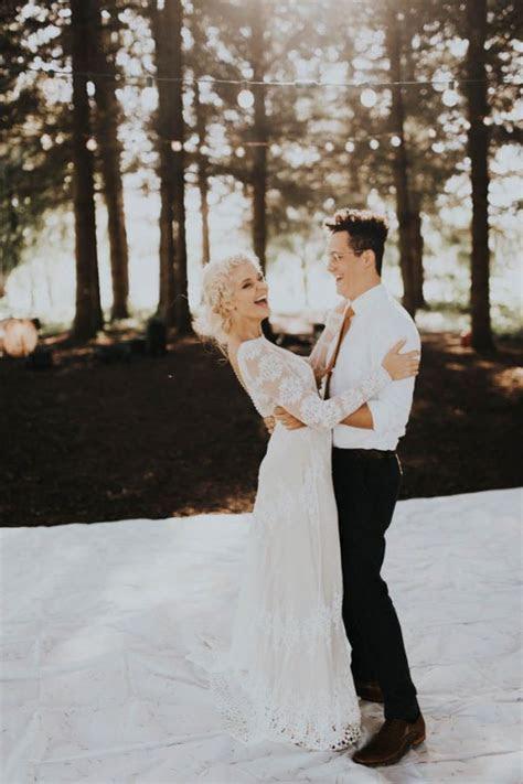 This Free Spirited Sauvie Island Wedding Will Steal Your