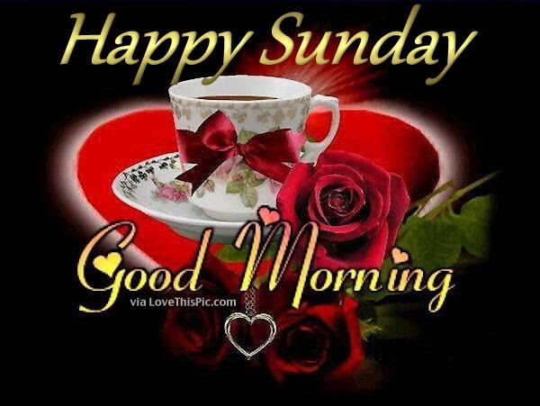 Good Morning Happy Sunday Coffee Quote Pictures Photos And Images