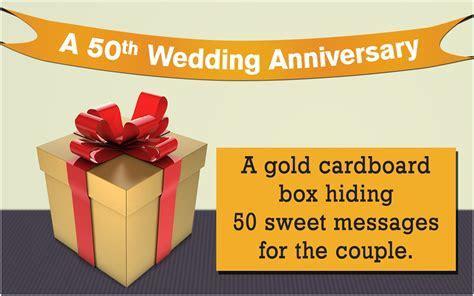 Best 50th Wedding Anniversary Gifts