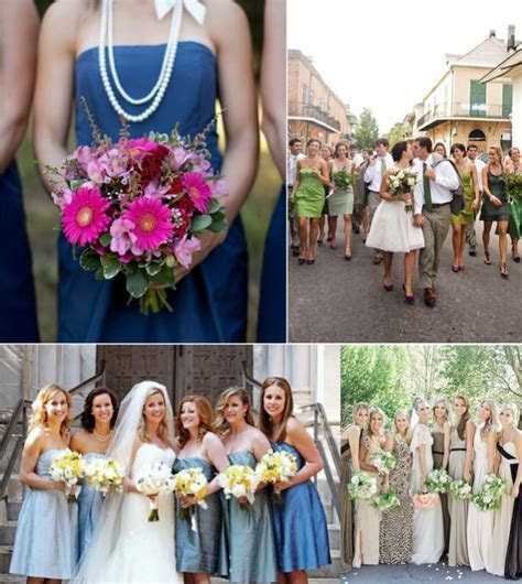 "Do you make your bridesmaids wear a ""uniform""?   OneWed"