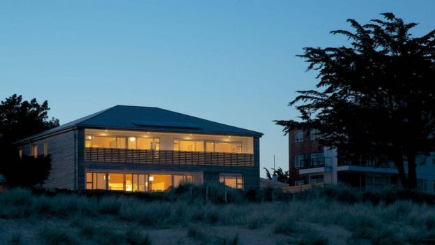 Tim Baldwin's present house in Sandbanks