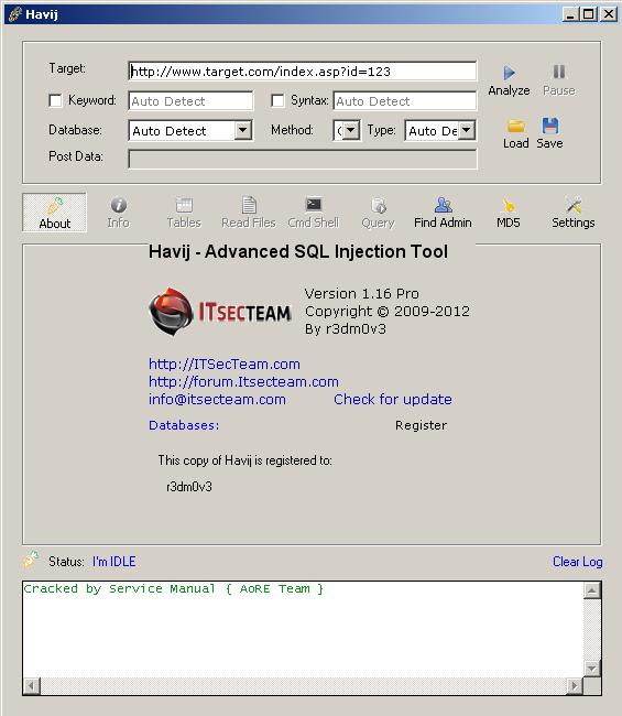 havij download for windows xp