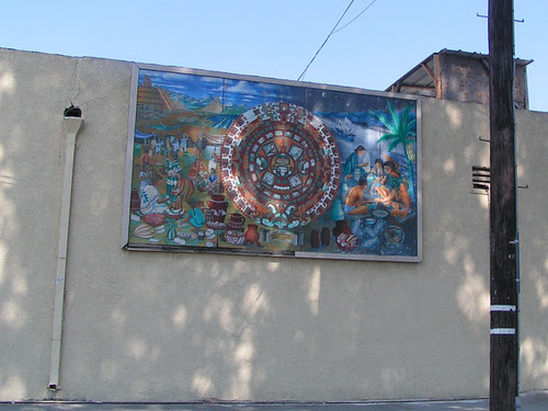 liquor store mural