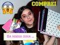 EU COMPREI o material escolar da minha IRMÃ !! #Backtoschool EP2
