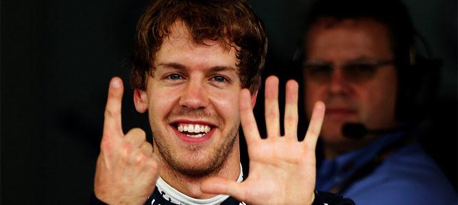 Sebastian Vettel 15 poles Nigel Mansell