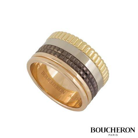 boucheron quatre classique large ring size  rich