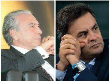 PF teria interceptado conversa entre Mendes e Aécio; senador teria pedido favor a ministro