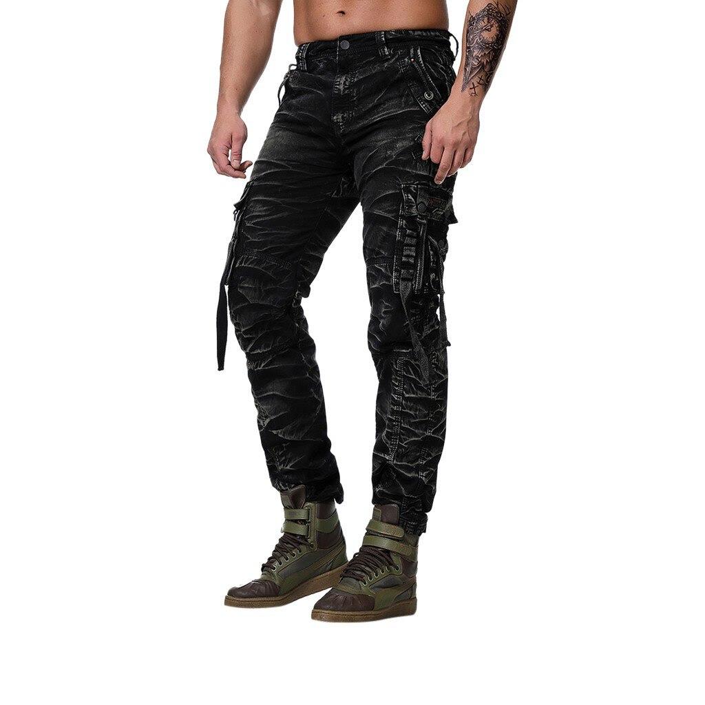 Men Pant Fashion Men's Regular Fit Pants Cargo Pants Casual Trousers Work Pants Fashion Pants Men's High Quality Brand Pants