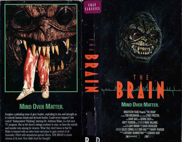 The Brain (VHS Box Art)