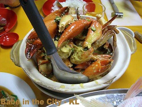 WP - butter crabs (RM67.20)
