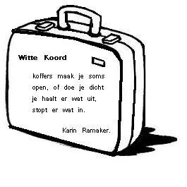kleurplaat open koffer