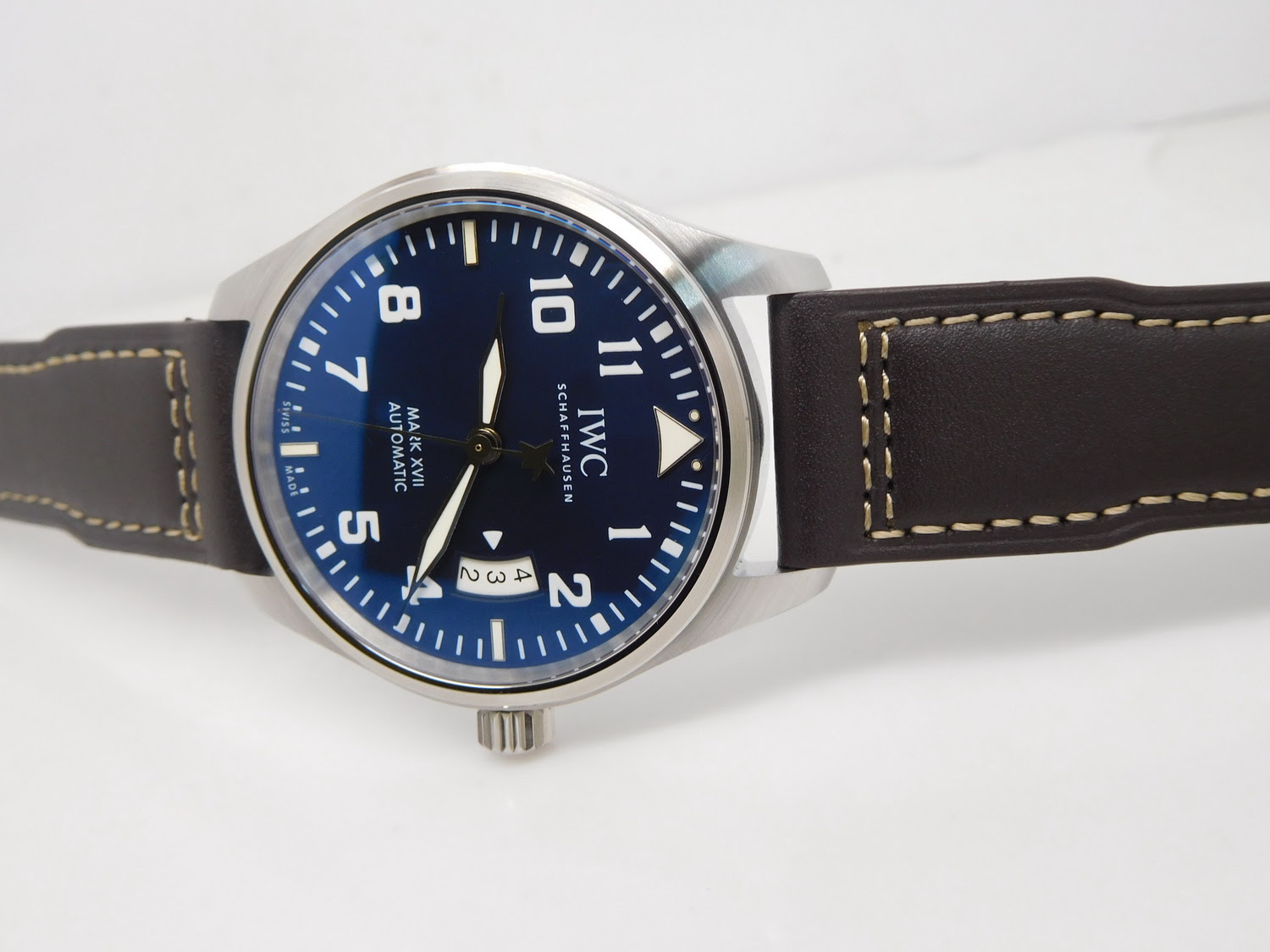 IWC Mark XVII Brown Leather