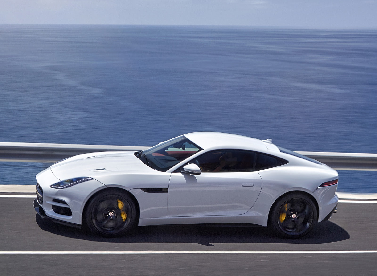 2018 Jaguar F Type R Coupe Side Wallpapers 13 Newcarcars