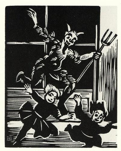 Graphic Novel illustration by Helena Bochorakova-Dittrichova