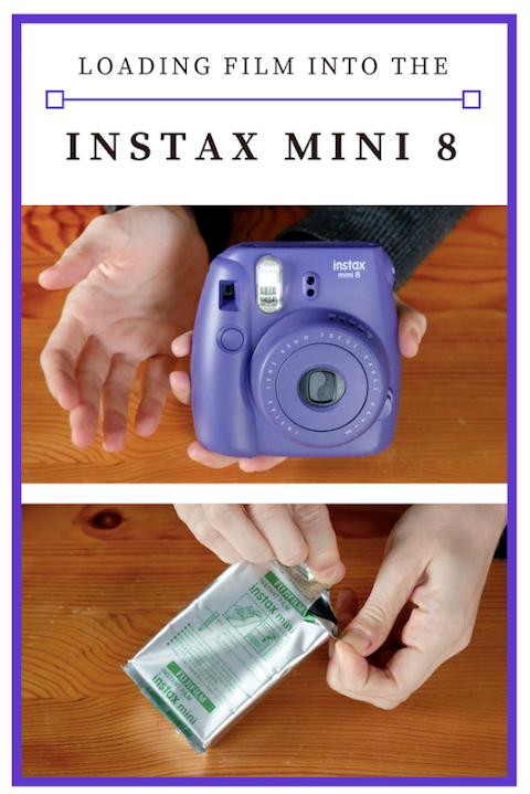 How To Insert Film Instax Mini 8