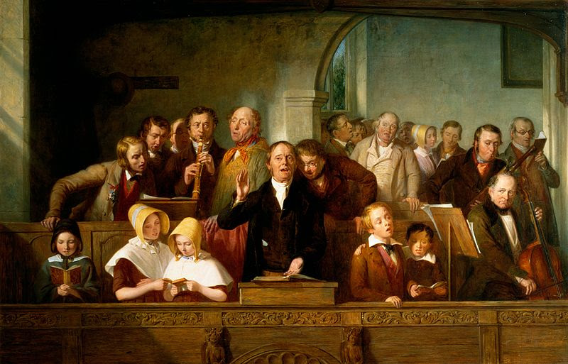 File:Thomas Webster - A Village Choir.jpg