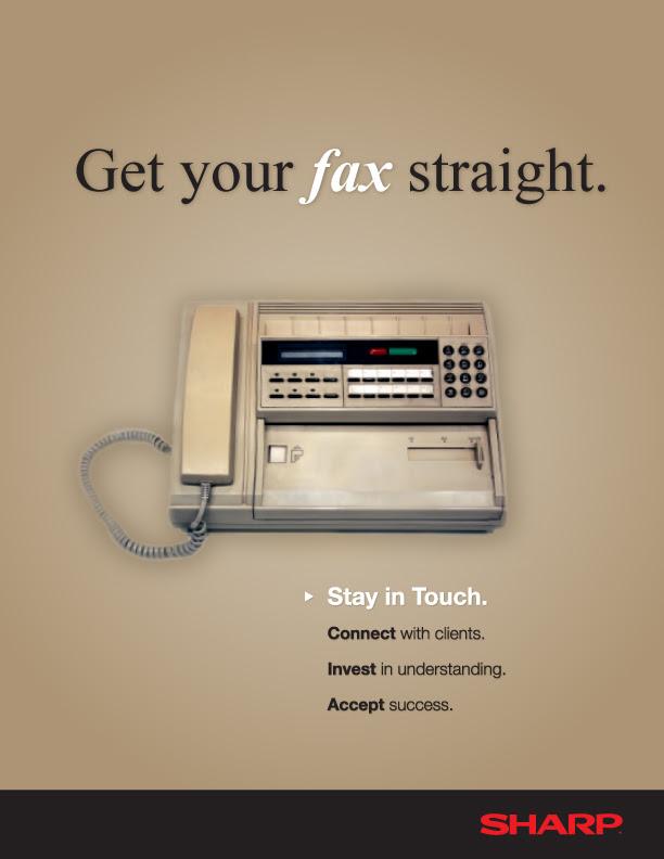Old Fax Machine Ad 2