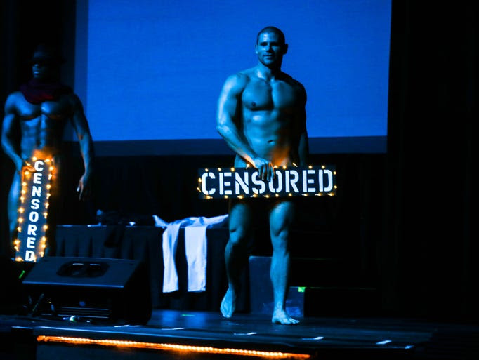 The Chippendales website states that the men perform