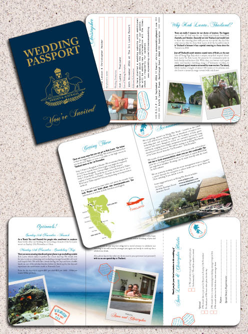 Thailand Passport Invitation