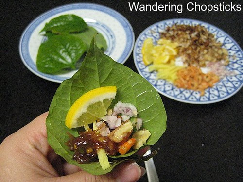 Mieng Kham Thai Leaf-Wrapped Snack 1