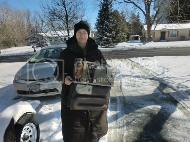 Annie packing heat