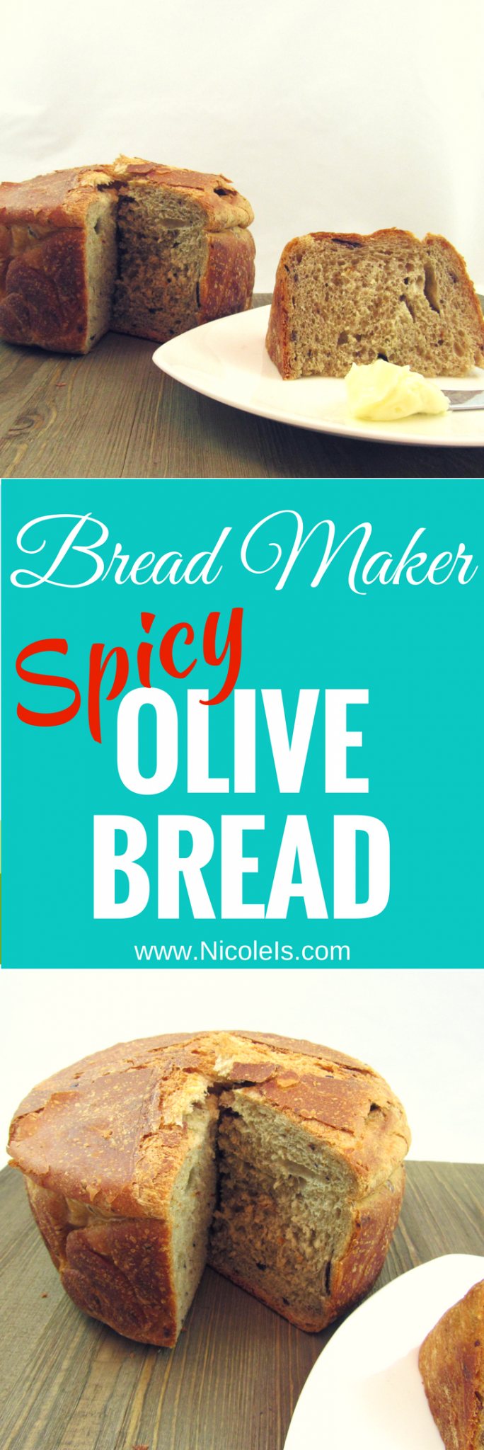Bread Maker Spicy Olive Bread - Fortenberry Farm