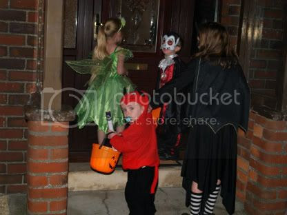 Trick-or-treating Halloween 2101