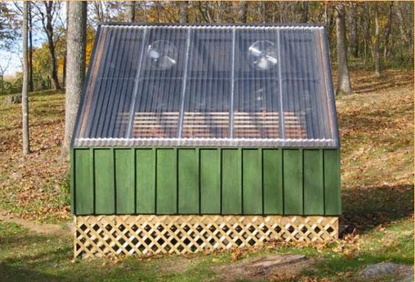 The Solar Kiln