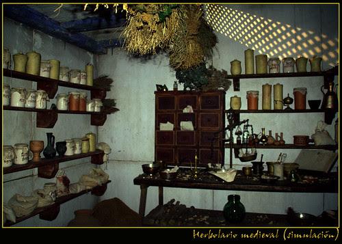 herbolario medieval (simulación)