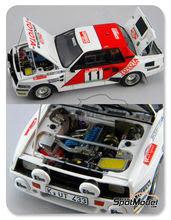 Maqueta de coche 1/24 Scuderia Italia.Lab - Toyota Celica TA64 Group B Correo del munho - Nº 11 - Kankkunen - Rally de Portugal 1984 - kit Multimedia