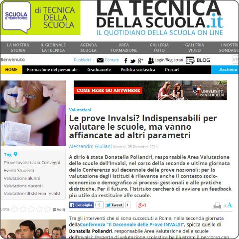 http://www.tecnicadellascuola.it/item/8047-le-prove-invalsi-indispensabili-per-valutare-le-scuole,-ma-vanno-affiancate-ad-altri-parametri.html