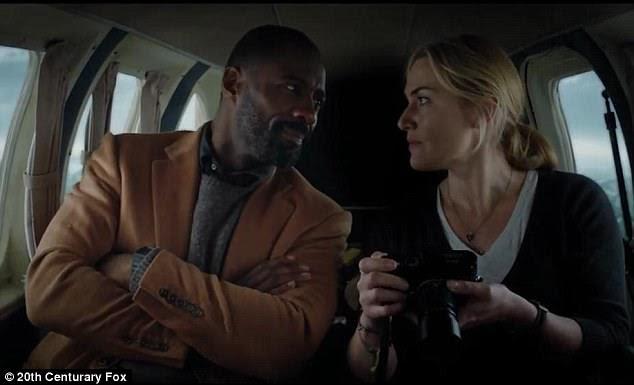 Chemisty: Winslet plays Alex, a gutsycamera-wielding photojournalist, who meets surgeon Dr Ben Bass (Idris)