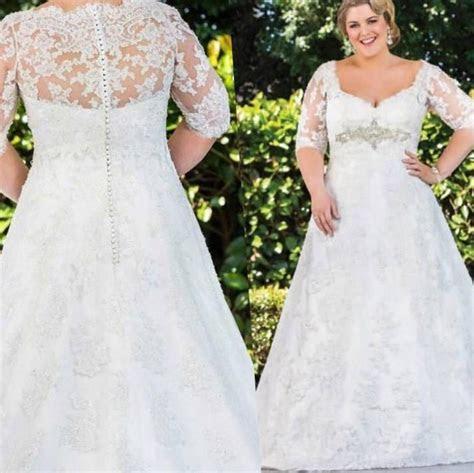 Wedding dresses for plus size woman   PlusLook.eu Collection