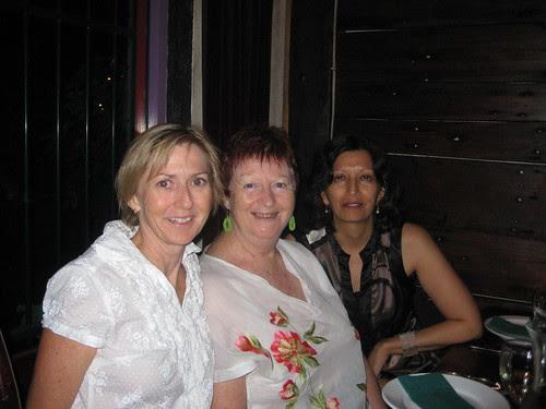 Julie, Di and Jayshree